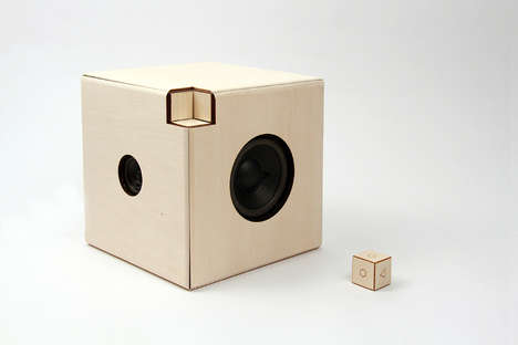 Dicey Music Devices - The Cube Media System Lets You Tangibly Interact With Your Audio Collection