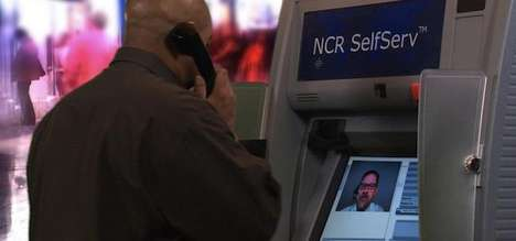Video-Enabled ATM Machines - The NCR APTRA Interactive Teller Lets You Instantly Chat with Your Bank
