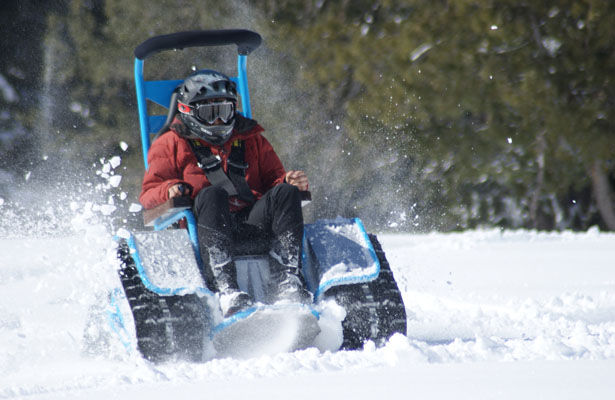 Extreme All-Terrain Wheelchairs