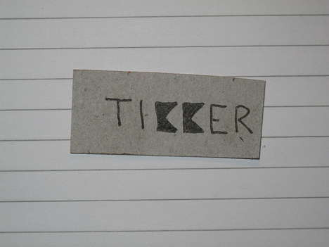 Tikker watch