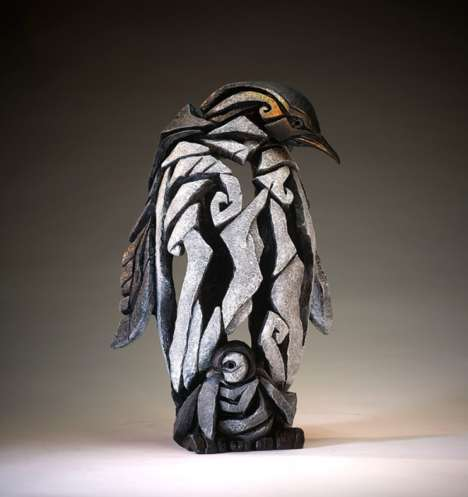 Modern Animal Artworks - These Clay Sculptures Portray Animals in a Modern Art Style
