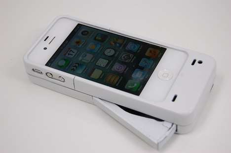 Finger-Powered Battery Packs - The Mipwr Dynamo Charges Your iPhone Using a Single Digit