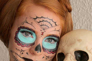 The Halloween Costume Tattoos From Etsy Create Spooky Makeup Looks