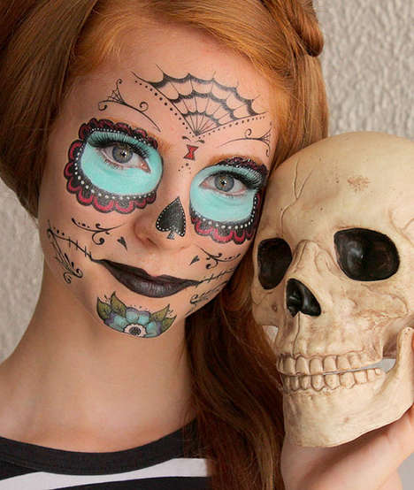 Halloween costume tattoos