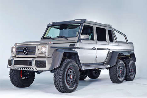 Bulletproof Muscle Cars - The Mercedes Benz G36 AMG 6X6 is a Mini Tank