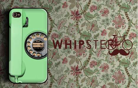 Vintage Photograph Smartphone Cases - Whipster is a New Company that Makes Alternative iPhone Cases