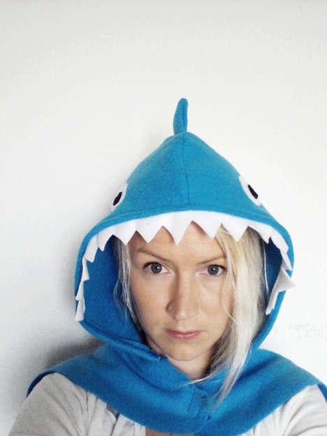 Ferocious Costume Capes - The Shark Halloween Costume Cape is an Easy Way to Dress Like a Beast