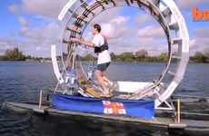 From Floating Human Hamster Wheels to Rodent Exercise Cruisers