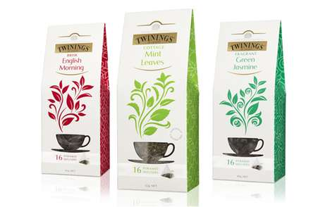 Twinings Pyramids Tea packaging