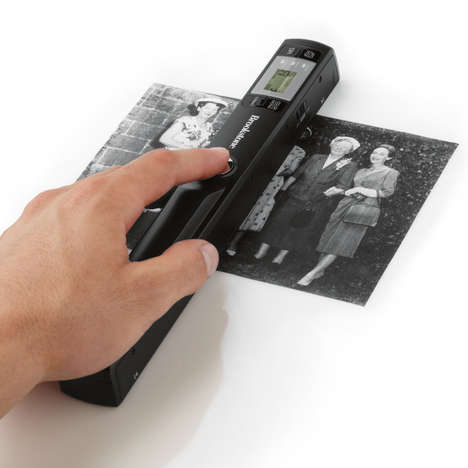 Portable Wand-Like Scanners - The Portable Document and Photo Scanner Just Requires a Swipe