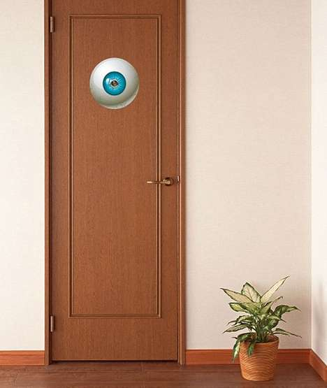 Ominous Eye Door Stickers - Keep Your Neighbours on Their Toes with the Big Brother Door Sticker