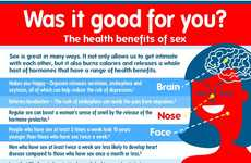 Hanky Panky Health Infographics - Learn Some Bedroom Benefits with This Helpful Infographic