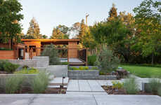 Outdoor Pool Oases - This Pool Deck was Transformed into a Cedar Hideaway