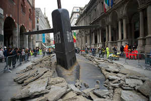 The Milan Submarine was Installed by Ad Agency M & C Saatchi