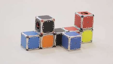 Self-Assembling Modular Androids - These Mini Robots are Able to Assemble Themselves