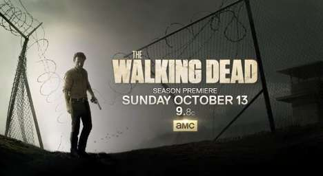 Zombified TV Premieres - The Walking Dead is Back for Season 4 (SPONSORED)