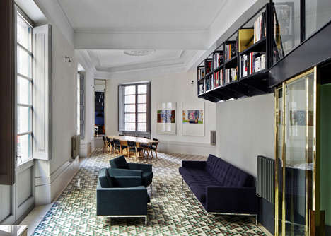 Exotic Barcelona-Inspired Apartments - The Carrer Avinyo Barcelona Apartment Embraces its Roots