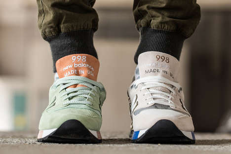 Money-Inspired Sneakers - The Concepts x New Balance 998 Features the