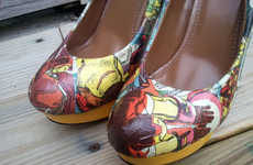 Powerful Superhero Pumps