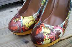 Powerful Superhero Pumps