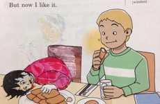 Gamer Schoolbook Drawings