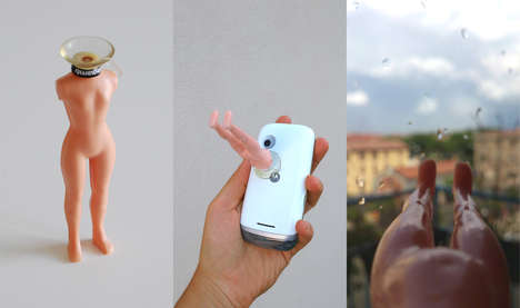 Leggy Smartphone Attachments - Instalegs are a Comically Anatomical Smartphone Accessory