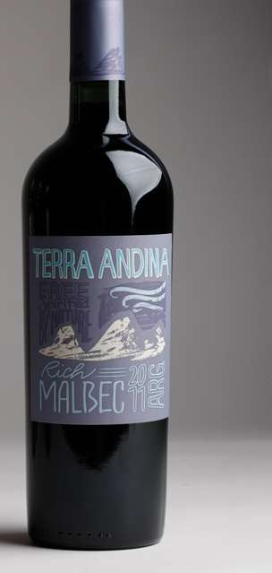 Terra Andina Wine packaging