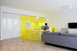 This Colorful Apartment Design by PERA Studio is Sunny