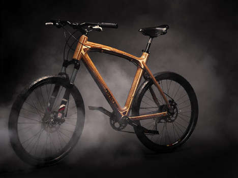 Ergonomic Wooden Bikes - The Sustainable Wooden Bike is Inspired by Aircraft and Shipbuilding Design