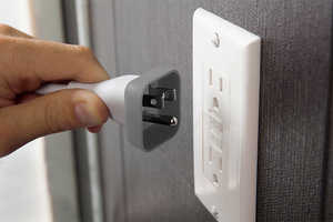The Cappit Cover Protects Your Fingertips from Electrified Prongs