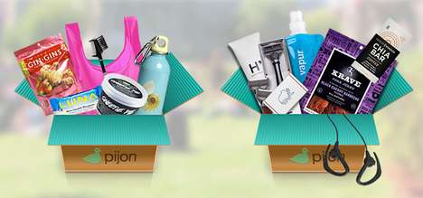 Student Survival Gift Boxes - The Pijon Box Lets Parents Send Essentials to Students Away at School