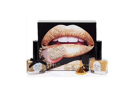 Elegant Hors D'oeuvre Manicures - The Ciate Caviar Luxe Sets Adds Texture to One's Polished Look