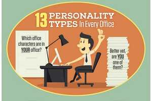 Characterize Your Co-Workers with This Humorous Infographic