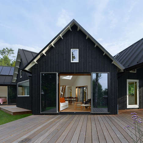 Contemporary Countryside Abodes - The Village House by Powerhouse Company Remixes Tradition