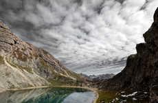 Rugged Mountain Range Photos