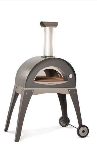 Mod Wood-Fired Pizza Ovens - The Alfa Forno Ciao is a Contemporary Cooker for Outdoor Occasions