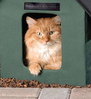 Feral Feline Thermal Tents - This Heated Cat House is Perfect for Outdoor Cats