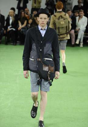 Wilderness Retreat Runway Fashions - Watanabe Spring Menswear 2014 Is Infused with Themes of Hunt