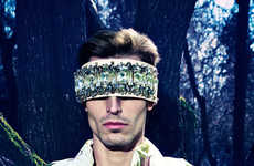 Vanguard Opulence Editorials - The Great Outdoors Male Model Scene Exclusive is Futuristic