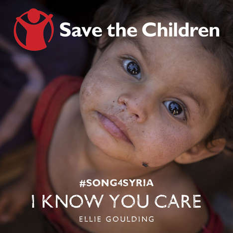 Political Pop Pleas - Ellie Goulding's #Song4Syria Reaches Out to Children of Syrian Conflict