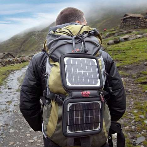 Hiking Smartphone Chargers - The Voltaic System Has the Ability to Charge All Your Devices