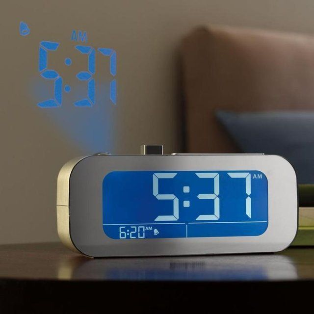 Time-Projecting Alarm Clocks