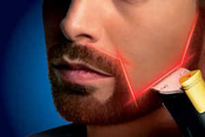 The Beardtrimmer 9000 Provides Ultimate Laser Precision