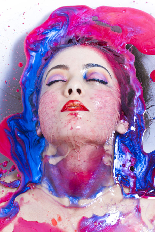Colorful Ink Bath Shoots
