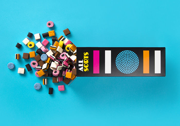 Candy-Patterned Cartons