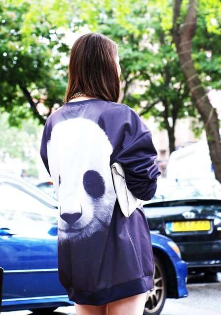 Pretty Panda Pullovers - This Adorable Panda Sweater from Mr. Gugu & Miss Go is Comfortably Cute