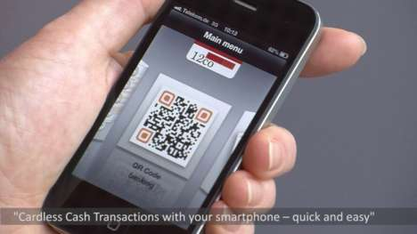 Smartphone ATM Apps - The Cardless Cash Access App Lets You Withdraw Money Using a QR Code