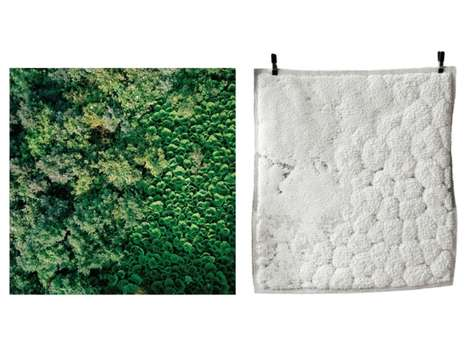 Topographic Carpet Creations - These Rugs by Roosmarijn Pallandt Mimic Textural Landscapes