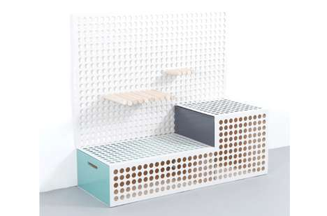 Peg-Based Storage Systems - The Brighten by Cool Enough Studio is Completely Customizable