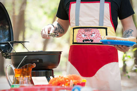 Humorous Apron Designs